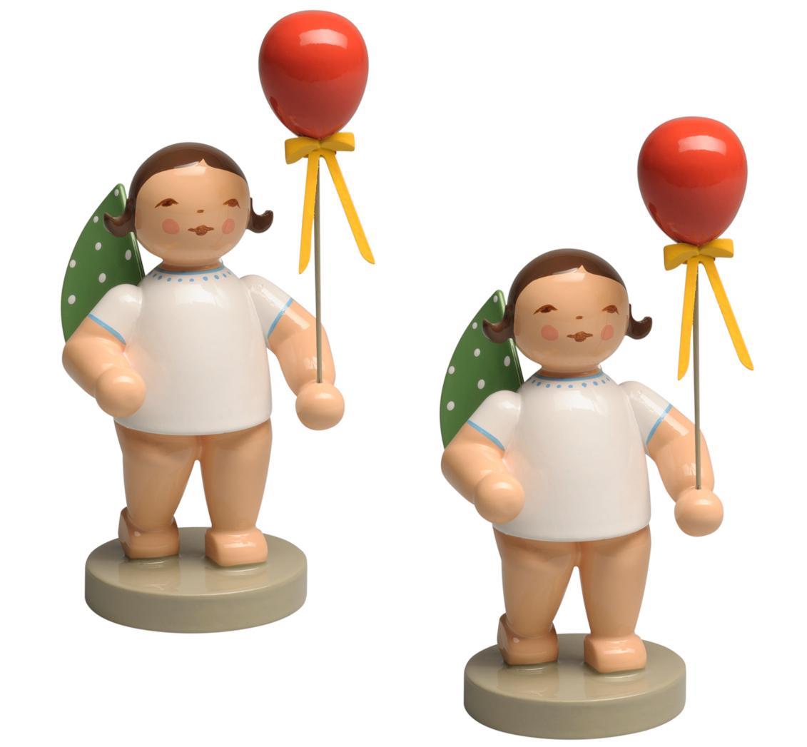 Wendt /& Kühn Engel mit Luftballon Rot 650//159